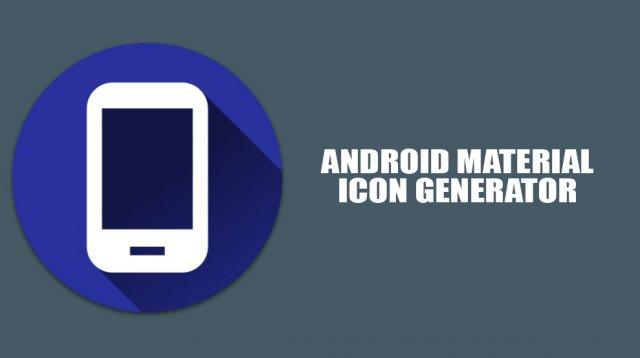 """Ovo je online alatka za pravljenje """"Material Design"""" ikona!"""