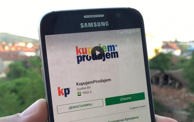 Ovo je zvanična KupujemProdajem aplikacija!
