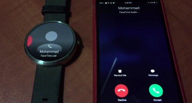 Pogledajte kako se jedan programer preko Moto 360 sata javlja na iPhone-u! (VIDEO)