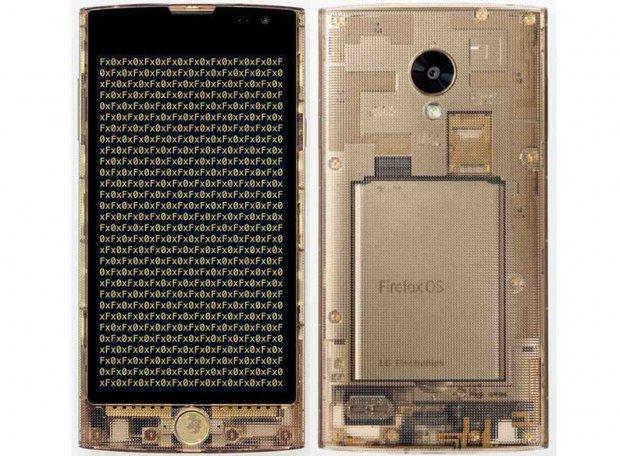Pogledajte prvi providni Firefox telefon!