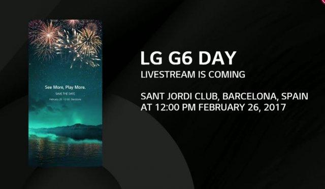 Pogledajte uživo predstavljanje novog LG G6 telefona! (VIDEO)