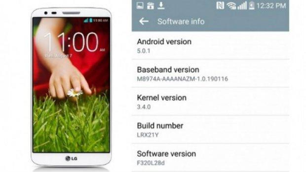 Pojavilo se Android 5.0 ažuriranje i za LG G2!