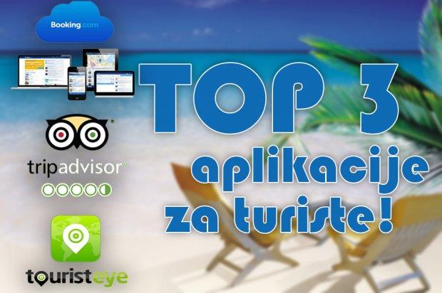 Predstavljamo: TOP 3 aplikacije za turiste!