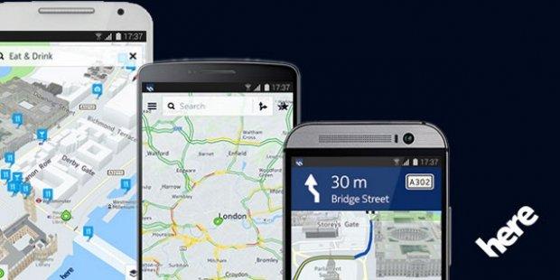 Preuzmite HERE Maps na svoj Android uređaj!