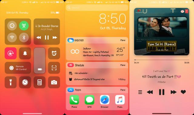 Preuzmite iOS 11X temu za Xiaomi telefone koji imaju MIUI 9 i MIUI8!