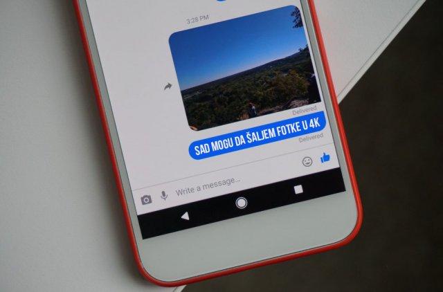 Sada možete da šaljete 4K slike preko Facebook Messenger-a!