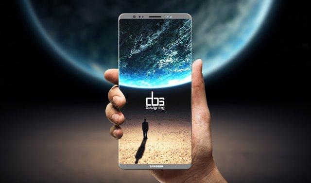 Samsung Galaxy Note 8 možda neće imati čitač otiska prstiju ispod ekrana!