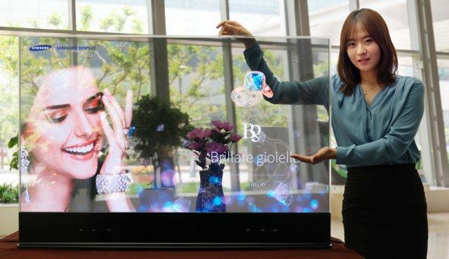 Samsung predstavio nove providne i ogledalo ekrane!
