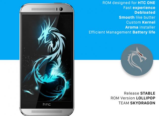 SkyDragon: Prvi CustomROM za HTC One M8 sa LolliPop Sense 7 korisničkim izgledom! (VIDEO)