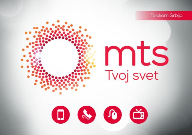 """Telekomove usluge su sada brendirane samo pod """"MTS"""" nazivom, pogledajte novi logo!"""