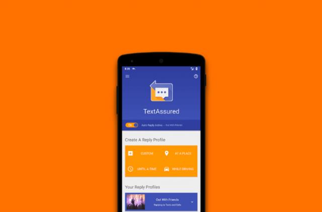TextAssured pomaže da automatski odgovorite na SMS ili poziv!