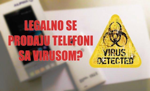 """U Srbiji se legalno prodaju telefoni zaraženi virusom! Evo kako da ih """"ubijete""""!"""