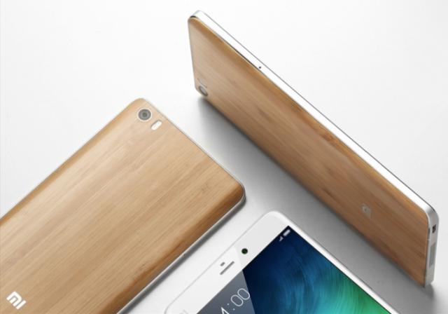 Uskoro i bambus Mi Note model telefona!
