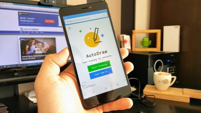 Vi žvrcnite, a Google će od toga napraviti sjajan crtež: AutoDraw! (VIDEO)