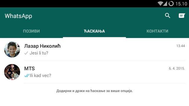 WhatsApp je dobio material design izgled, preuzmite .apk odmah!