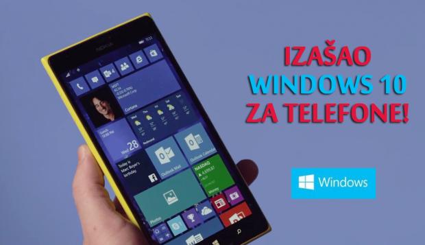Windows 10 za telefone izgleda ovako! (VIDEO)